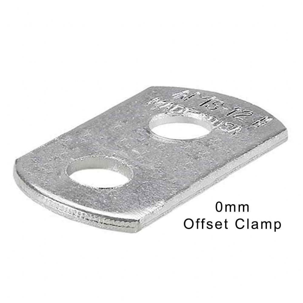 Canvas Offset Clamp 0mm (Two Hole)
